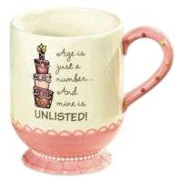 Age is Just a Number and Mine is Unlisted Birthday Coffee Mug