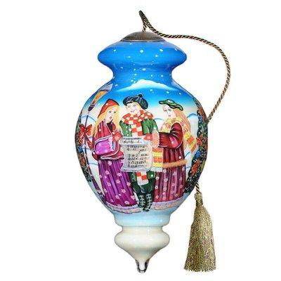 Carolers Ne'Qwa Art Ornament