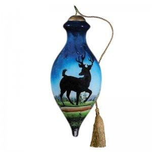 Deer Run Ne'Qwa Art Ornament