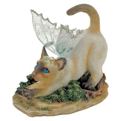 Duchess Cat Fairy Figurine Faerie Glen