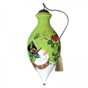 Holiday Holly Ne'Qwa Art Ornament