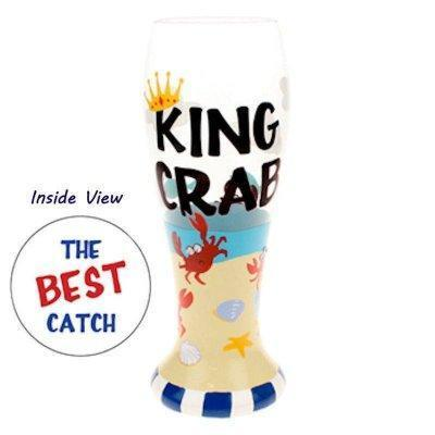 King Crab Beer Glass by Top Shelf