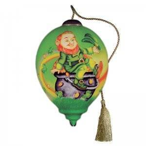 Luck o' the Irish Ne'Qwa Art Ornament