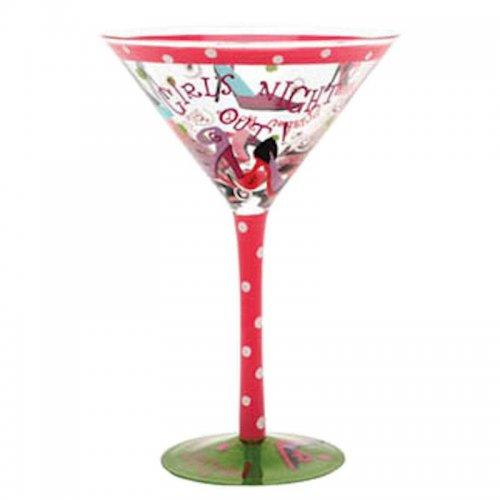Girls Night Out Martini Glass by Top Shelf