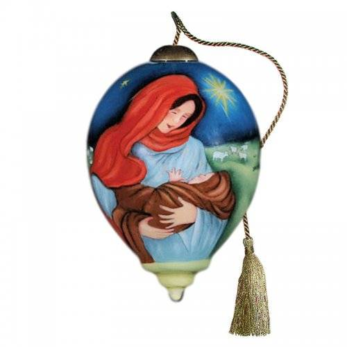 Jesus and Mary Ne'Qwa Art Ornament