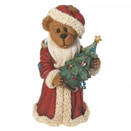 Ol' Saint Nick Bear Merry Christmas to All Figurine Boyds