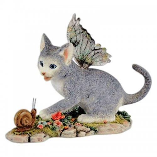 Shadow Cat Fairy Figurine Faerie Glen