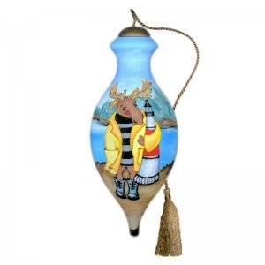 Moose Harbor Ne'Qwa Art Ornament