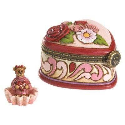 Rosalie Lovesalot Bear Oh So Sweet Treasure Box Boyds