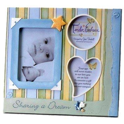 Baby Boy Blue Multiple Picture Frame by Tender Embrace
