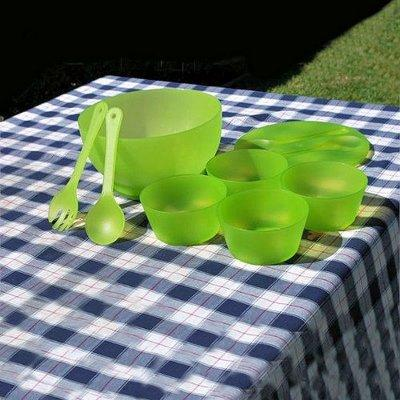 Salad Bowl Serving Set with Keep Cold Pack by Supreme Housewares