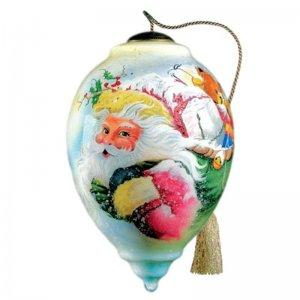 Santa's Gifts Ne'Qwa Art Ornament