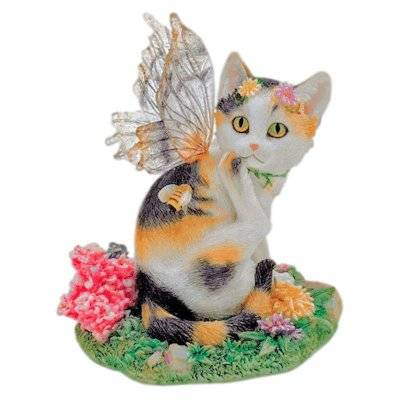 Tessa Cat Fairy Figurine Faerie Glen