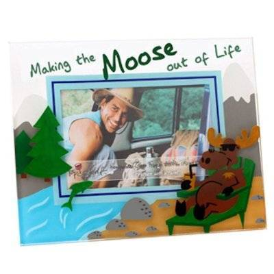Making the Moose out of Life Glass Picture Frame by Top Shelf