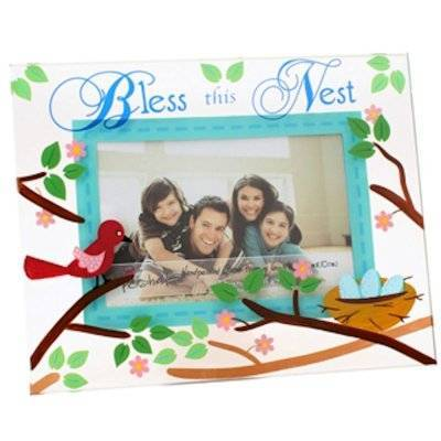 Bless this Nest Glass Picture Frame by Top Shelf
