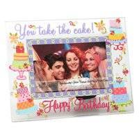 You Take the Cake Glass Picture Frame by Top Shelf