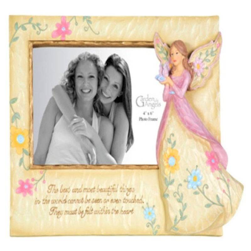 Angel With Butterfly Photo Frame Precious Moments