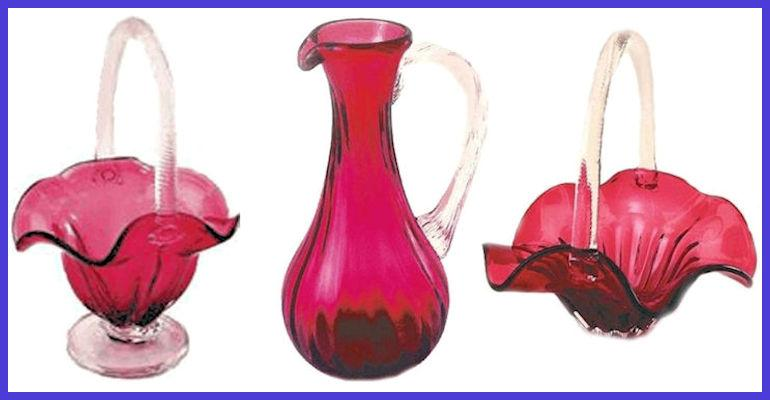 Fenton Gold Ruby Glass