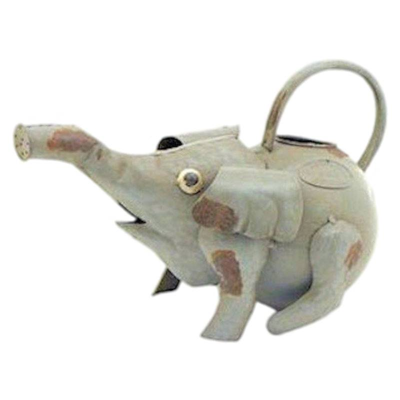 metal garden watering can elephant - Garden Watering Can