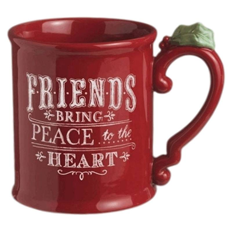 Christmas Coffee Mugs.Friendship Christmas Coffee Mug By Grasslands Road