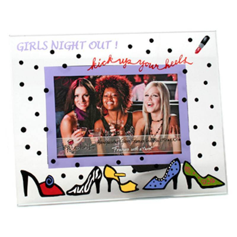 Girls Night Out Glass Picture Frame