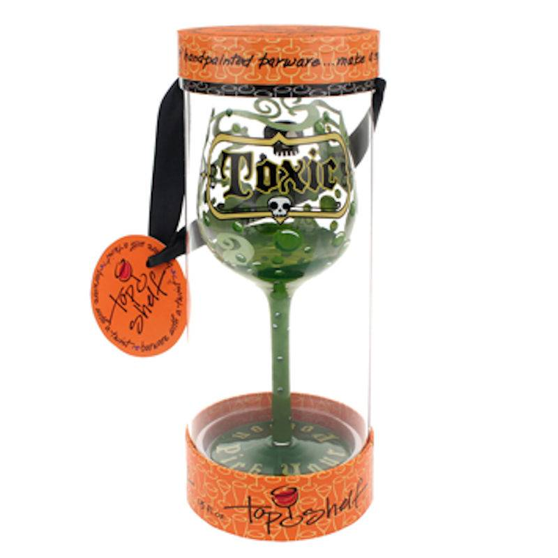 Toxic Wine Glass by Top Shelf - Click Image to Close
